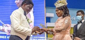 Bishop Charles Agyinasare and his wife, Rev Vivian Agyinasare