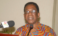 Minister in Charge of Tertiary Education, Professor Kwesi Yankah