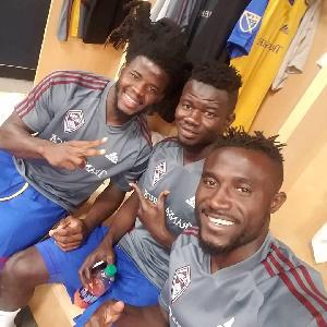 Lalas Abubakar, Kwesi Donsu and Kofi Opare