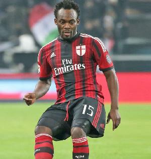 Former Black Stars midfielder, Michael Essien