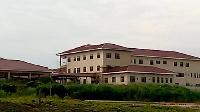 Abandoned hospital project