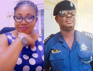 Late Sergeant Jemima Aidoo, Sergeant Adjei Kumi