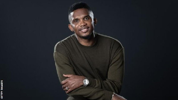 Eto\'o aims to use studies to \'give back to Africa\'