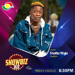 Shatta Wale is on Showbi 360 tonight