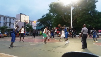 The Accra Basketball League