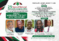 NDC to marks its 25th Anniversary celebrations