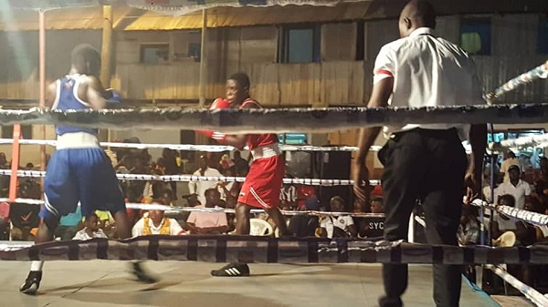 A local boxing bout - File photo