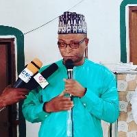 CEO for Zongo Development Fund, Alhaji Arafat Sulemana