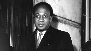 Former President of Ghana, Dr. Kwame Nkrumah