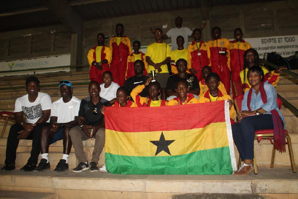 Ghana Team finishes second at African Junior Championship