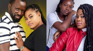 Gospel musician Joyce Blessing, her husband and publicist have been going at each other