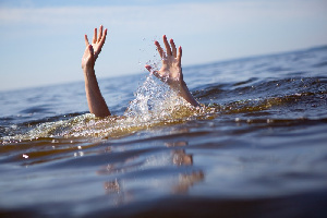 File photo: The deceased drowned himself in a sea behind the Black Stars Square in Accra