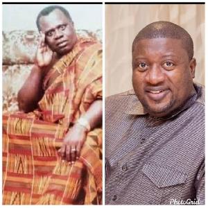 Henry Nana Boakye and his late father Edward Osei Boakye