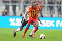 Ghana midfielder Bernard Mensah