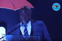 Titus Glover Tema East MP