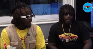 DopeNation comprises of Micheal Boafo, popularly known as B2 and Tony Boafo, known as Twist