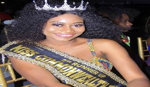 Christabel Osei-Agyeman, 2nd runner up of Miss Commonwealth Ghana 2018