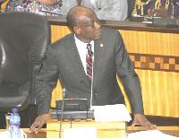 Minister of Finance, Seth Terpker