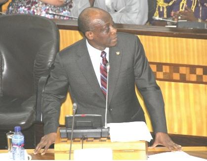 Minister of Finance Seth Terkper