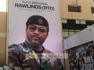 The funeral of former President Jerry John Rawlings will commence on January 24, 2020