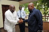 George Andah meets Akufo-Addo