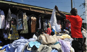 The Kantamanto market has become the nerve-centre of used clothing in the country