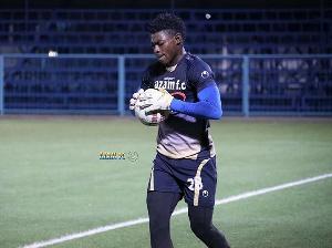 Ghanaian goalkeeper, Razak Abalora