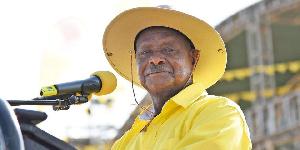 Uganda's president Yoweri Museveni, (Isaac Kasamani | AFP)