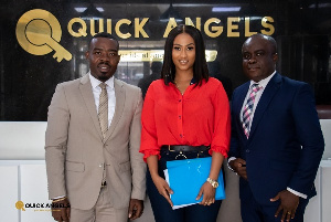 Hajia 4Reall lands an investment deal at Quick Angels Limited