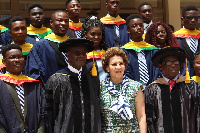 Some persons at the first Matriculation ceremony of the Nduom School of Business and Technology