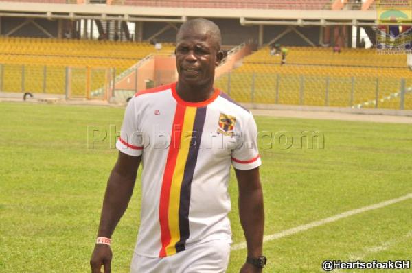 Interim coach of Accra Hearts of Oak, Seth Hoffman