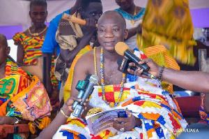 Awulae Amihere Kpanyinli III, Paramount Chief of Eastern Nzema Traditional Council