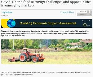 Coronavirus and food security