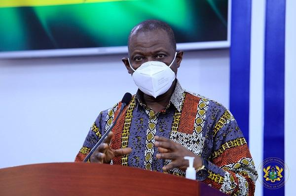 Dr. Patrick Kuma-Aboagye,  Director General, GHS