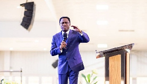 Apostle Eric Nyamekye, Chairman of the Church of Pentecost