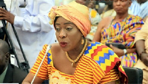 Catherine Ablema Afeku, Minister of Tourism, Arts and Culture