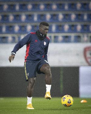 Cagliari player, Alfred Duncan