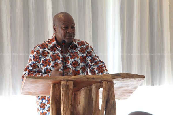 Mahama laments collapse of local financial institutions