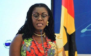 Minister of Communications and MP for the Ablekuma West Constituency, Ursula Owusu-Ekuful