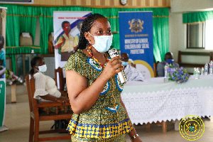 Abena Annobea Asare, Head of Human Trafficking, Ministry of Gender, Children and Social Protection
