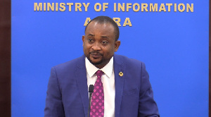 Deputy Information Minister, Pious Enam Hadzide