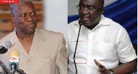 Amissah-Arthur and Dr. Mahamudu Bawumia