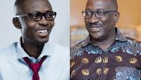 Bernard Avle and founder of Citi FM, Samuel Atta Mensah
