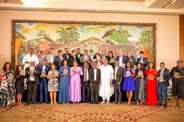 Top businessmen, companies honored