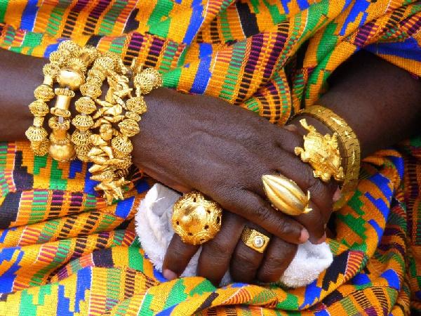 File photo of a Ghanaian chief regalia.