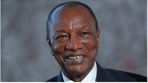 Guinea's President Alpha Conde picked to run for third term