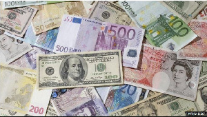 File photo of high value world currencies