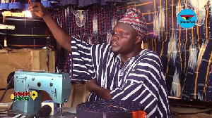 Mohammed Ali Abdul Somed tells the story behind the beautifully woven 'Fugu'
