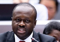 Minister of Communications, Dr. Edward Omane Boamah
