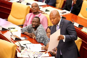 Former Deputy Education Minister in-charge of Tertiary Education, Okudzeto Ablakwa